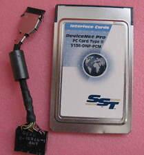SST 5136-DNP-PCM DEVICENET PRO, 16-BIT PC CARD TYPE II, NETWORK INTERFACE, 1 EA.