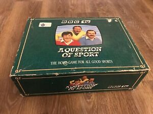 A Question of Sport, Boxed BBC TV Quiz Game - Good condition