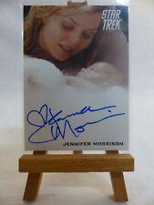 Star Trek The Movies 2009 autograph trading card Jennifer Morrison Winona Kirk