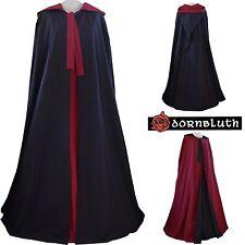 Medioevo veste mantello con cappuccio fatto su misura colore a scelta Medioevo Costume