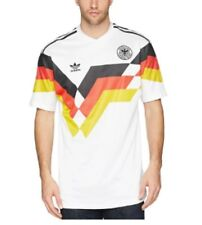 Adidas Men's Germany Replica Soccer T-Shirt - White - Large - Brand New