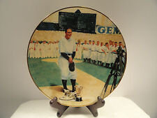 "Lou Gehrig ""The Luckiest Man"" Limited Edition Plate"