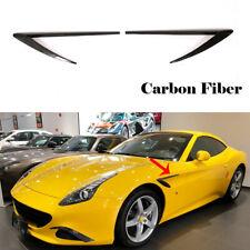Fit for Ferrari California T 15-18 Side Fender Air Vent Trims 2PCS Carbon Fiber