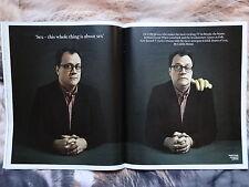 Russell T Davies Desmond Tutu The Times magazine December 2014