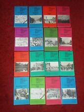16 GODFREY EDITION OLD ORDNANCE SURVEY MAPS Various 1895-1923 Joblot Bundle.