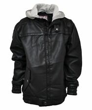 Boys' Faux Leather Winter Coats, Jackets & Snowsuits (2-16 Years)