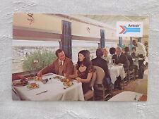 Vintage Postcard: Dining Car, Amtrak