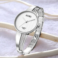 Fashion Women Lasies Stainless Steel Quartz Analog Dress Bracelet Wrist Watches