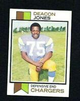 NMT 1973 Topps #38 Deacon Jones HOF.