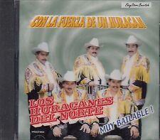 Los Huracanes Del Norte Con La Fuerza De Un Huracan CD Nuevo Sealed