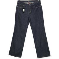 Talbots Womens Flare Jeans Size 12 X 32 Dark Stretch