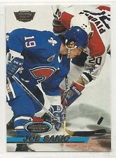 1993-94 Stadium Club - Members Only Logo - #32 - Joe Sakic - Nordiques