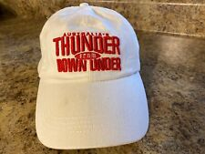 Australia's thunder from down under white baseball cap adjustable embroidered