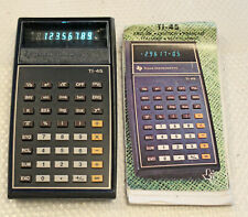 1977  Vintage Taschenrechner Texas Instruments TI-45
