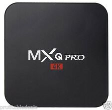 MXQ PRO Android 6.0 TV Box 1GB/8GB Quad Core Set Top Box Kodi 4K Wifi RK3229
