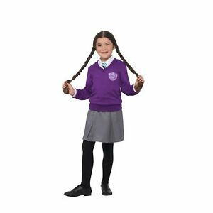 Girls St Clares Costume Childs Enid Blyton Fancy Dress Kids Book Day Age 7-12