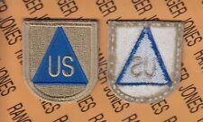 US Cilivian Observer Advisor Airborne beret Flash patch