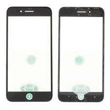 Front Screen Glass Lens w/ Frame&OCA Adhesive Sticker For iPhone 8 Plus 5.5inch