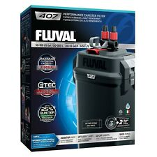 FLUVAL 407 Aquarium Canister Filter All Media included NEW Release 2019