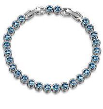Ocean Dream Bracelet made with Swarovski crystals.