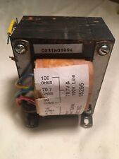 Electro-Voice AT100 100 WATT HIGH PERFORMANCE TRANSFORMER