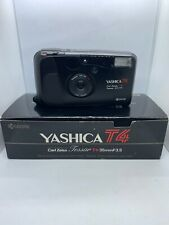 Yashica T4 Black - Carl Zeiss Tessar T 3,5 35mm Film Camera Working Tested