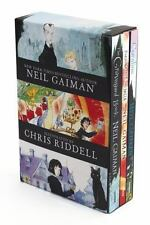 Neil Gaiman/chris Riddell 3-Book Box Set: Coraline; The Graveyard Book; Fortu...