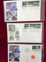 FDC Space, Rockets A Decade of Space Achievement No Reserve AB-72 Unaddressed