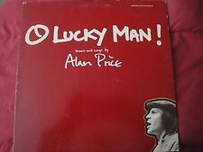 "ALAN PRICE ""O LUCKY MAN!""  12"", 1973, 33RPM, Film Score/Soundtrack LP VG+ WARNER"