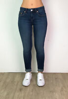 Womens Skinny Denim Jeans Ladies Ex Designer Casual Slim Skinny Dark