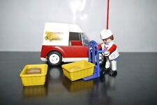 PLAYMOBIL Bakery Delivery Car 4411 99% COMPLETE SET