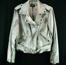 $258 Walter Baker New York  Travis Moto Velvet Jacket Lavender  NWT