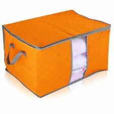 Blanket Quilt Underbed Clothes Pillow Case Storage Bag Container Organizer