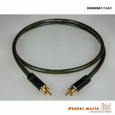 4m Subwoofer-Kabel -Spirit XXL Neutrik/Rean- Sommer Cable Cinch Mono...druckvoll
