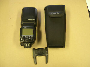 Canon 600EX-RT Speedlite Flash (Black) with case