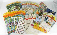 McDonalds Restaurant Kids Happy Meal Paper Bag Box Lot Acticity Book Game 1990's