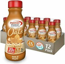 Premier Protein 20g Protein Shake with Oats, 3 flavors , 11.5 Fl Oz Bottle,