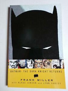 Batman The Dark Knight Returns TPB (2002) Soft cover, Frank Miller