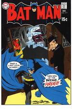Neal Adams SIGNED DC Super Hero Art Print ~ Batman #217 Bronze Age Classic Cover