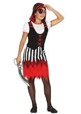 Déguisement Fille Pirate 5/6 ans Costume Enfant Corsaire film NEUF Pas cher