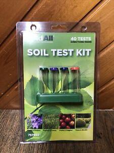 HoldAll Soil Test Kit 40 Tests Brand New 757860