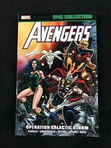 Avengers Operation Galactic Storm Epic Collection Graphic Novel Softcover