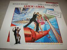A View To Kill Motion Picture Soundtrack LP *PROMO* NM 1985 SJ-12413