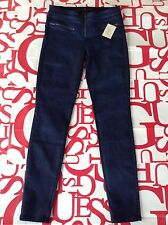 Guess Tiesto Collection Blue Obsession Mid Rise Skinny Jeans Size 32
