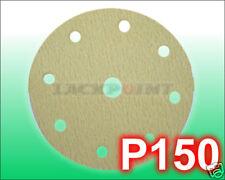 Discos de lijado 150mm 9loch P150 ADHESIVO GP : 1º =