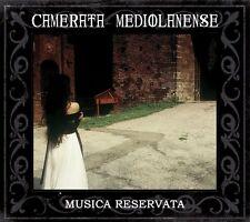 CAMERATA MEDIOLANENSE Musica Reservata [+Bonus CD] 2CD Digipack 2013