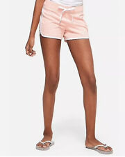 Justice Girl's Size 10 Logo Knit Dolphin Shorts in Sugar Coral New with Tags