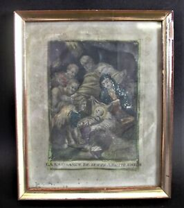 - Cornelis VAN MERLEN (1654-1723) LA NAISSANCE DE JESUS A BETHLEHEM - WEIHNACHT