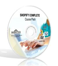 Shopify Complete Course Pack - Videos, Guides, & More! DVD