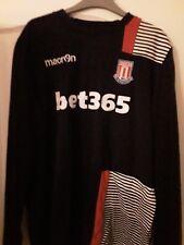 Macron Stoke City long-sleeved training top (Size Xl)
